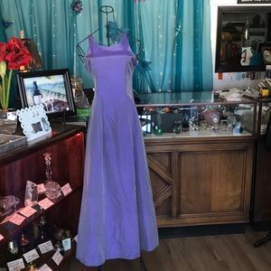 Roberta Lavender Floor Length Formal (3/4)